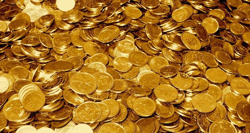 Gold coins trade
